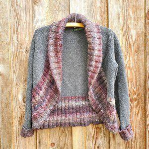 Woolrich Pure Lambs Wool Open Cardigan Kendal Creek Bolero Sweater